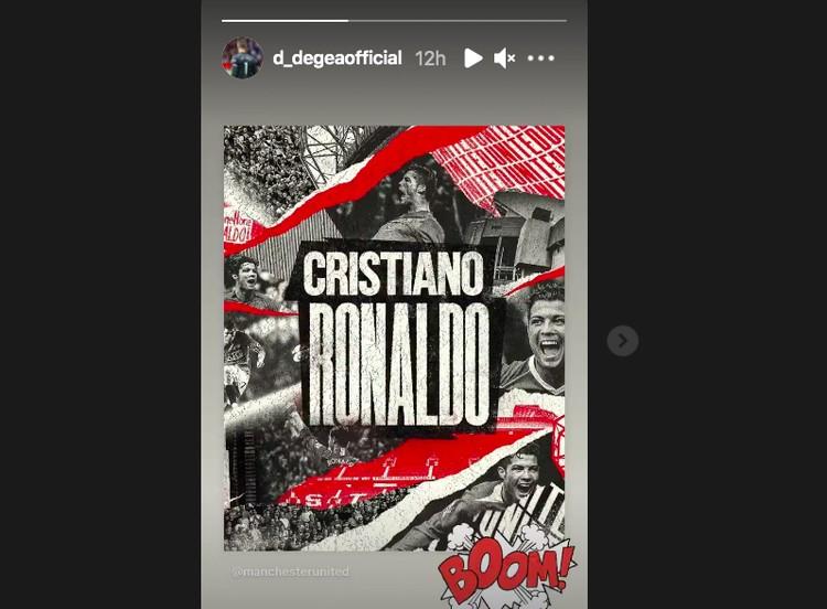 Sambutan untuk Ronaldo