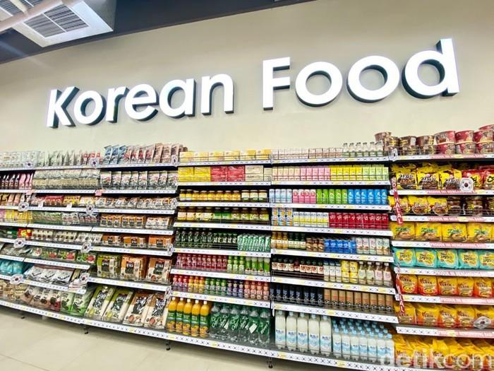 Viral di Medsos, Supermarket Korea Ini Punya Produk Makanan Super Komplet