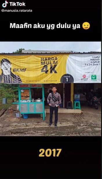 Kisah Sukses Penjual Bakwan Kawi, Jualan Sejak SMA hingga Punya 7 Cabang