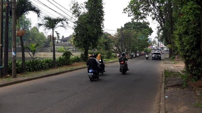 Lokasi pembegalan payudara di Depok (Foto: Rakha/detikcom)