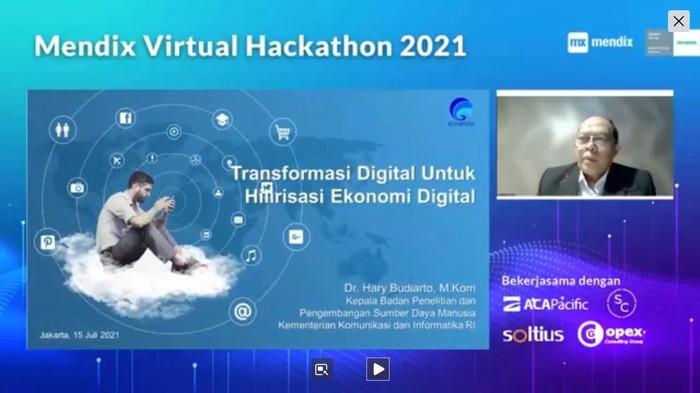 Mendix Virtual Hackathon 2021