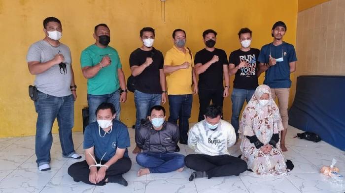 Pelaku begal taksi online di Makassar ditangkap