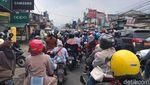 Penampakan Macetnya Puncak Bogor Akhir Pekan Kala PPKM Level 3