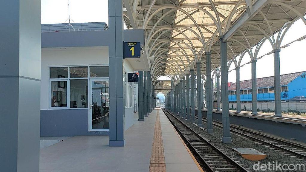 Melihat Wajah Baru Stasiun Garut yang Diklaim Termegah di Indonesia