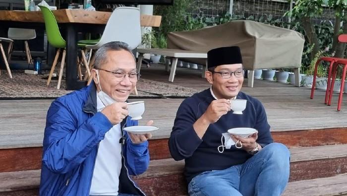 Zulkifli Hasan bertemu Ridwan Kamil (Twitter Zulkifli Hasan)