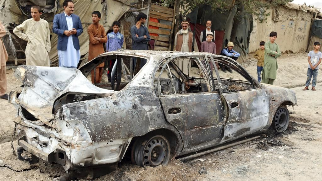 Drone AS Hantam Mobil Bomber ISIS di Afghanistan