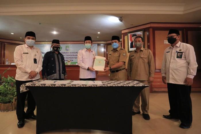 Bangun Asrama Haji, Pemkot Tangerang Hibahkan Lahan 4,1 Hektare