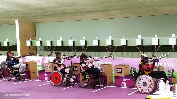 Hanik Puji Astuti memint maaf usai gagal di Paralimpiade Tokyo 2020.