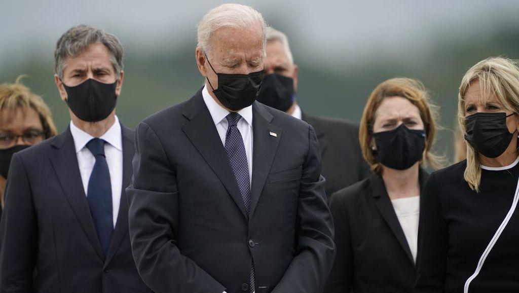 Joe Biden, Obama, dan Clinton Hadiri Peringatan 20 Tahun Tragedi 9/11