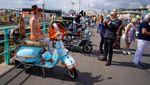 Ratusan Geng Vespa dan Lambretta Menyemut di Inggris