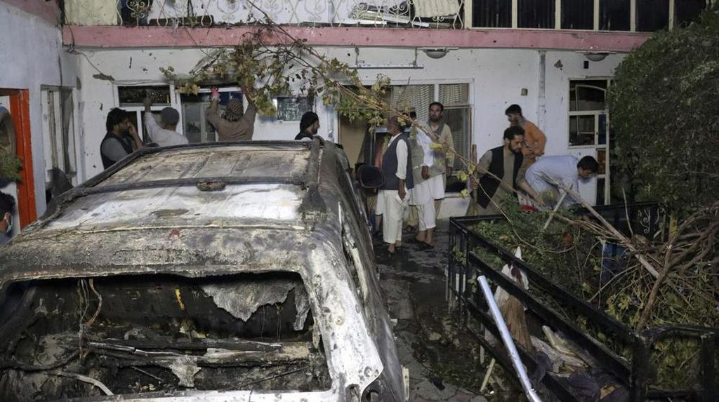 Video AS Akui Serangan Drone di Kabul Salah Sasaran, 7 Anak-anak Tewas!