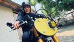 Modifikasi Kawasaki W175 Bergaya Bitcoin Asal Bandung