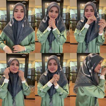 Nur Fazura yang menjual habis produk hijabnya lebih dari 80.000 hijab selama dua jam.