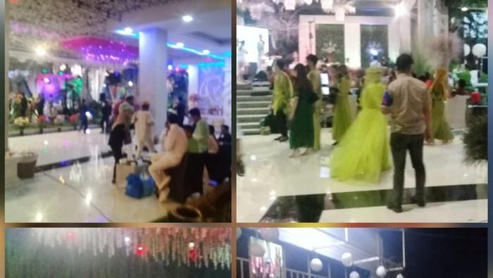 Pesta ultah-langgar prokes selebgram di Makassar. (dok. Istimewa)
