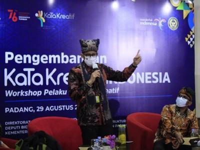 Sandiaga Ingin Ada Kota Kabupaten Kreatif dari Sumatera Barat