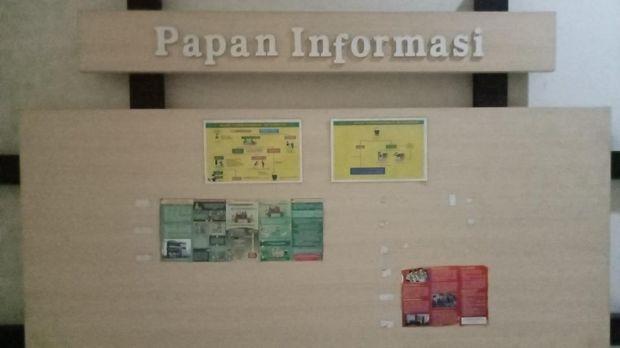 Suasana kantor Pemkab Probolinggo usai OTT KPK Puput Tantriana Sari, tampak lengang