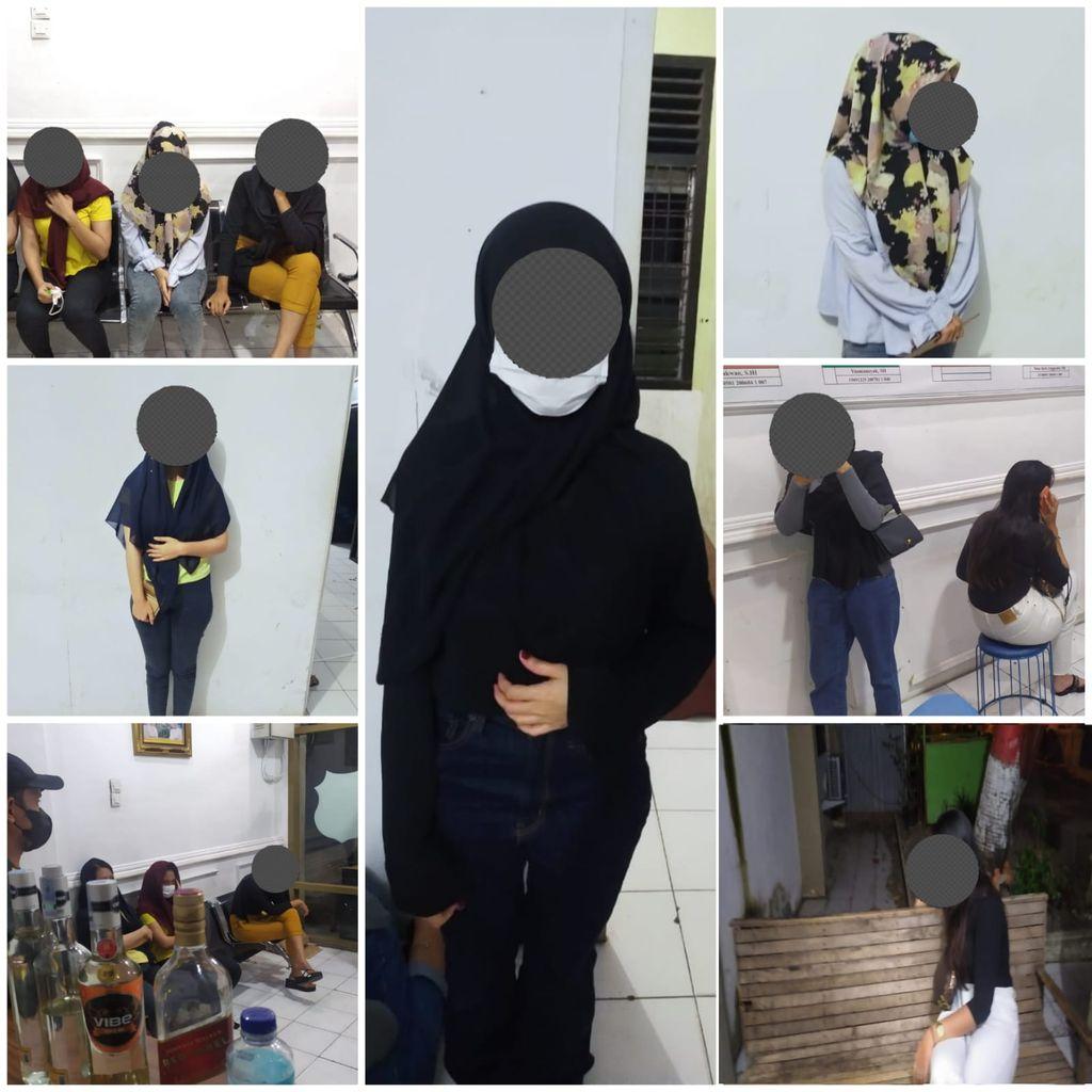 7 wanita ditangkap saat pesta miras di Aceh