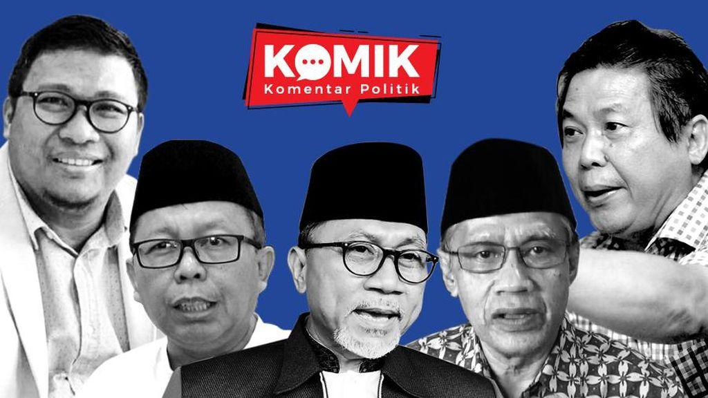 Bola Panas PAN Ditarik Jokowi Demi Amandemen