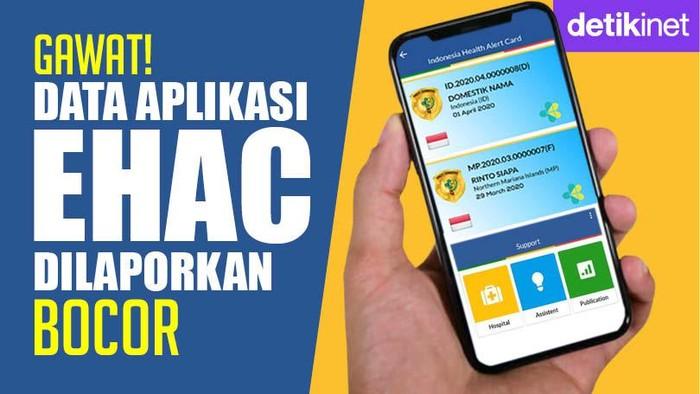Data Aplikasi eHAC Dilaporkan Bocor