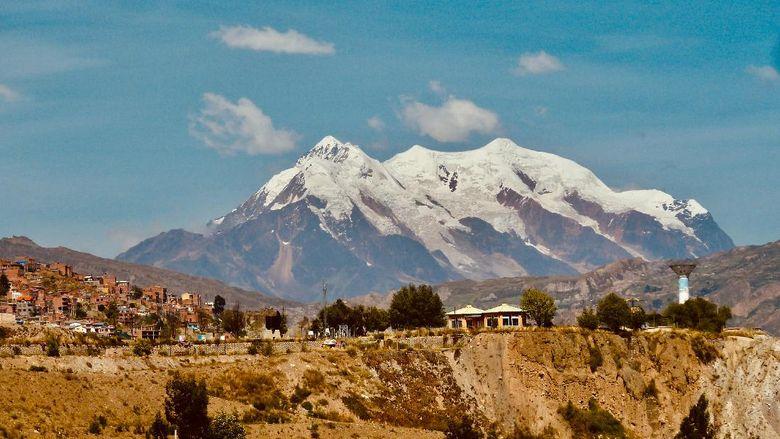 Gunung Illimani, Bolivia