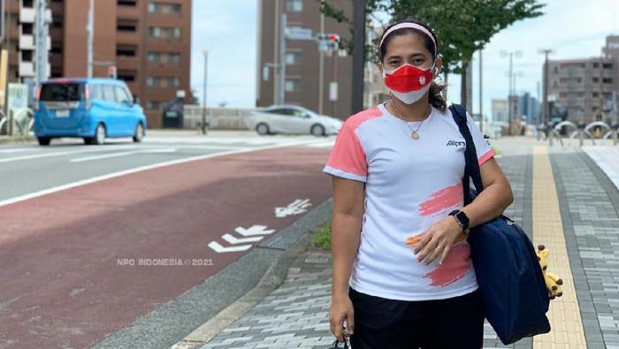 Leani Ratri Oktila bersiap memburu medali di Paralimpiade Tokyo 2020 via parabadminton.