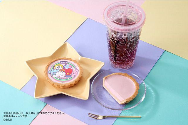Minimarket Jepang tawarkan egg tart dengan desain karakter BTS