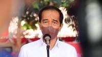 Resmikan Rusun Pasar Rumput, Jokowi Singgung Normalisasi Sungai