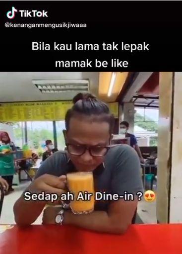 Pria nangis karena bisa dine in setelah 2 bulan MCO di Malaysia