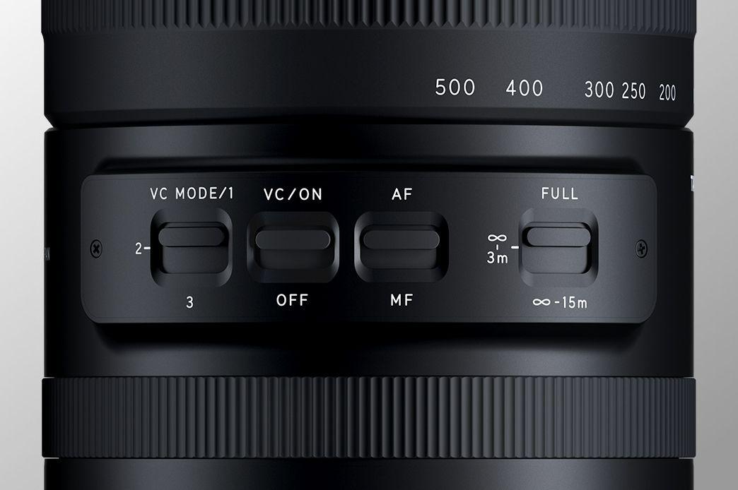 review lensa telefoto Tamron 150-500mm di kamera mirrorless sony