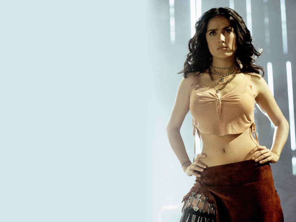 Penampilan Salma Hayek di beragam film.