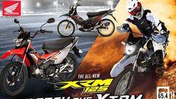 Honda Daftarkan Desain Motor Ayam Jago Bergaya Trail di Indonesia