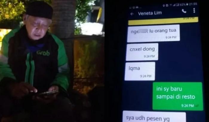 Lama Antar Makanan, 5 Driver Ojol Ini Dilempar Kuah Sup hingga Kena Suspend
