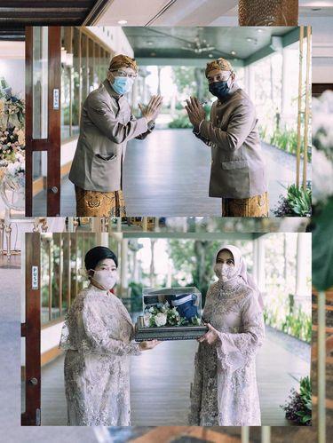 Foto acara pernikahan selama PPKM