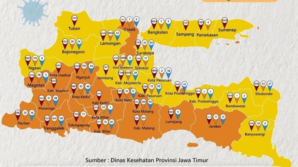 Akhirnya Surabaya Jadi Zona Kuning