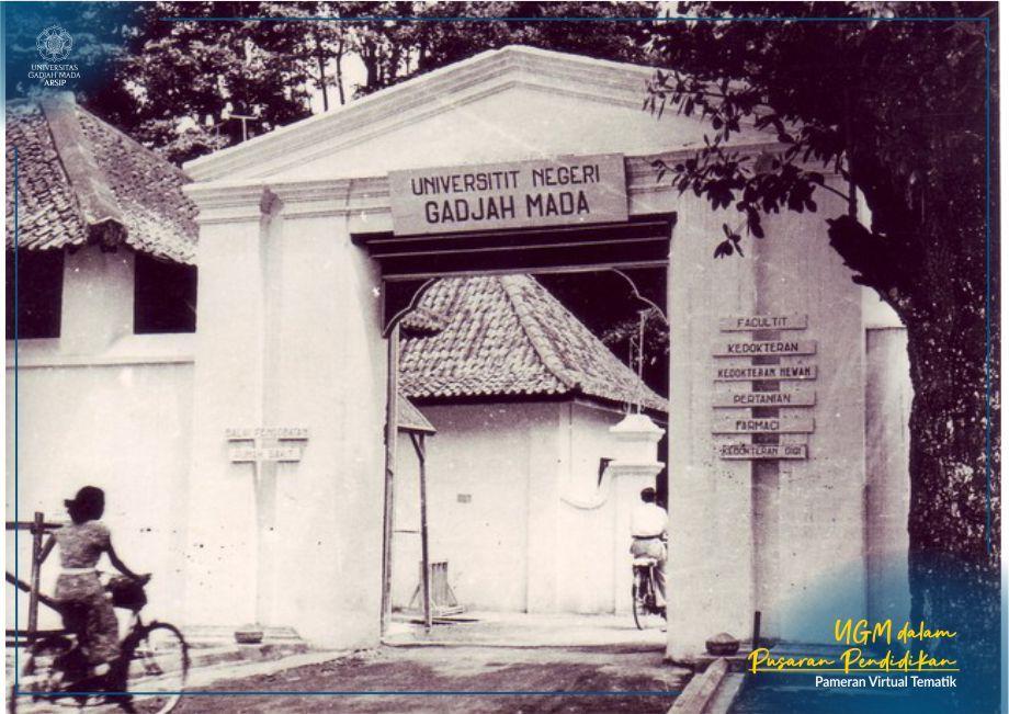 Kampus UGM Komplek Ngasem Tahun 1950-an