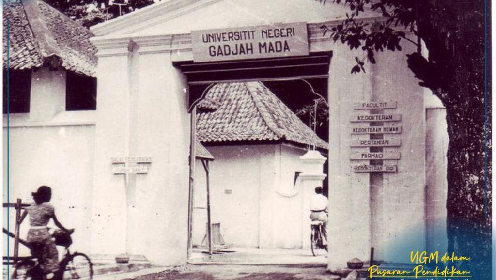Potret UGM Tempo Dulu dari Kampus Dalam Keraton hingga Bulaksumur