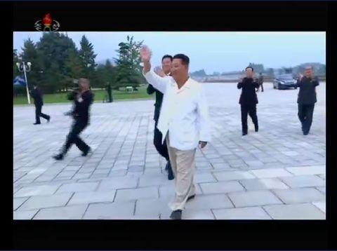 Kim Jong Un tampak lebih kurus saat menghadiri Hari Pemuda Nasional di Pyongyang