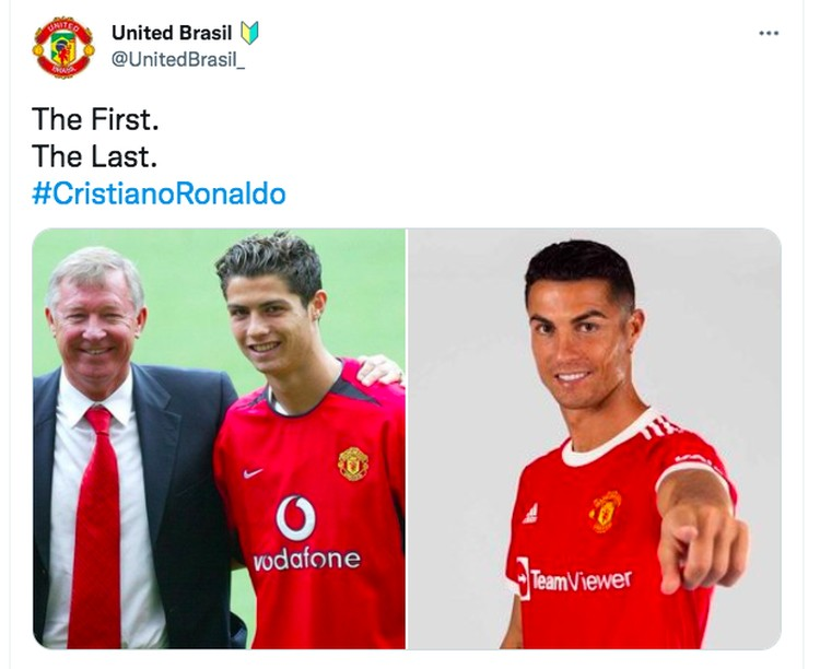 Meme ronaldo berseragam MU