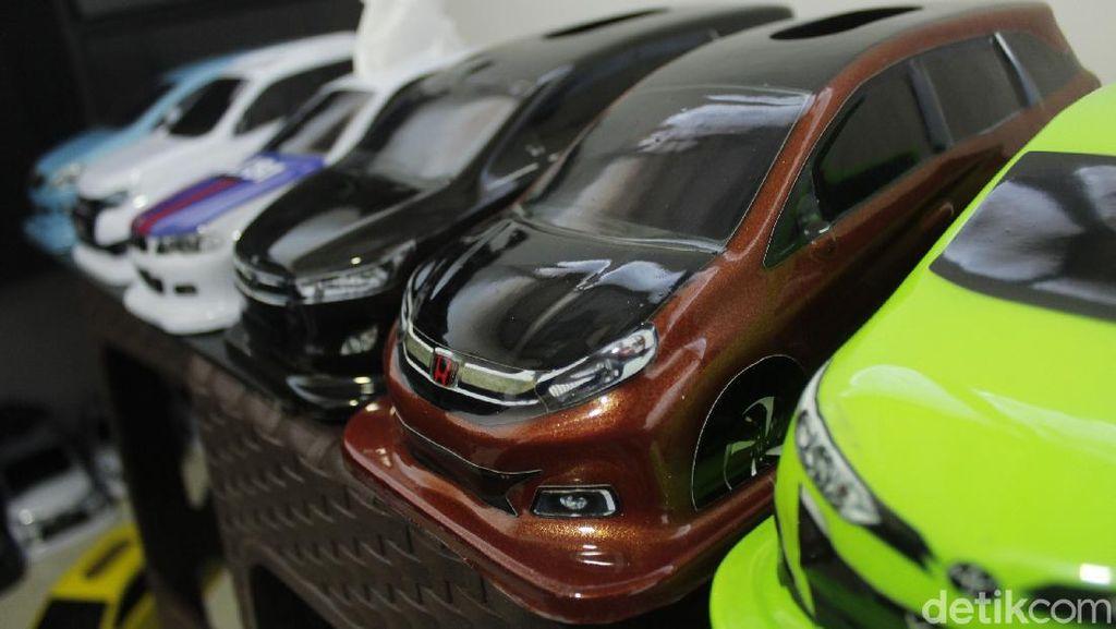 Salut! Mobil Kotak Tisu Made In Bandung Terjual hingga Mancanegara