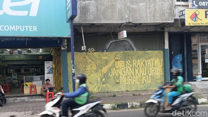 Mural di Karawang dihapus