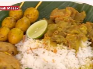 Masak Masak: Resep Nasi Gandul Khas Pati yang Berkuah Gurih Mantap