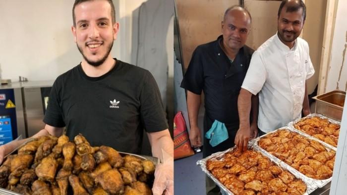 Restoran Palestina di Inggris Bagikan 600 Porsi Makanan untuk Pengungsi Afghanistan
