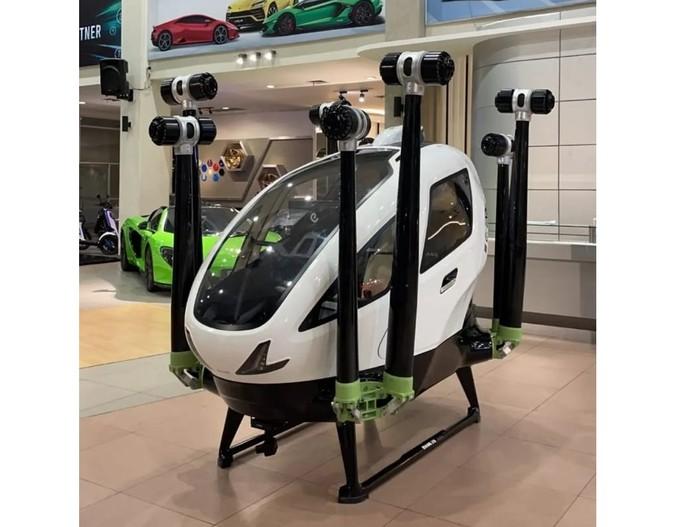 Taksi terbang ehang sudah ada di dealer Prestige Image Motorcars, Jakarta