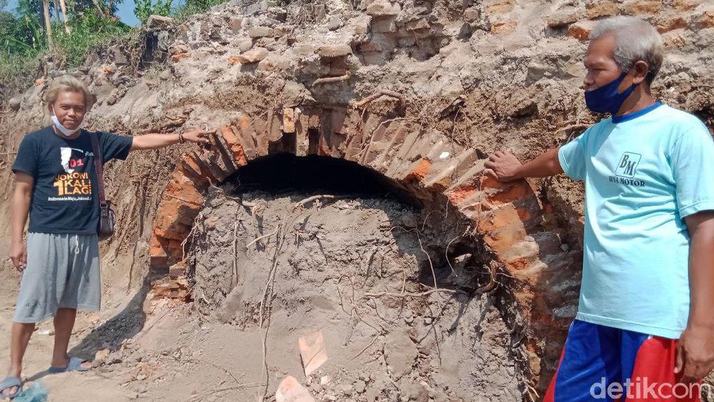 Mak Jegagik! Warga Klaten Temukan Bangunan Diduga Terowongan Kuno