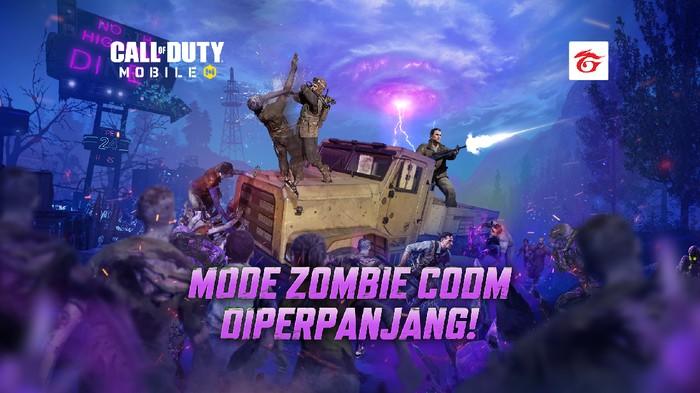 Mode Zombie Undead Siege Call of Duty: Mobile Diperpanjang, Buruan Mainin