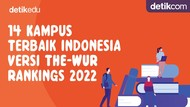 UPDATE : 14 Kampus Terbaik Indonesia Versi THE-WUR 2022