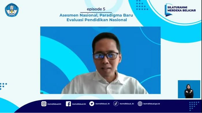 Kepala Badan Standar, Kurikulum, dan Asesmen Pendidikan, Kemendikbudristek, Anindito Aditomo dalam Silaturahmi Merdeka Belajar Episode 5, Kamis (2/9/2021).