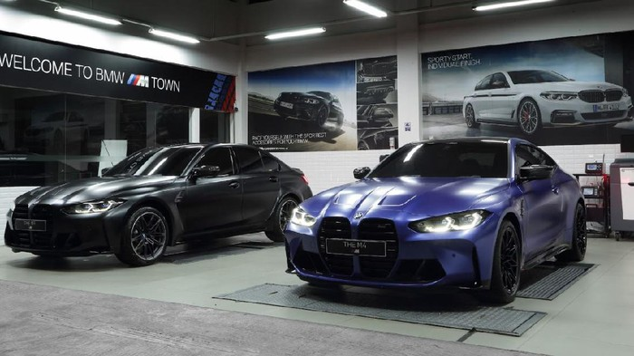 BMW M3 Competition Sedan dan BMW M4 Coupe Competition varian Individual