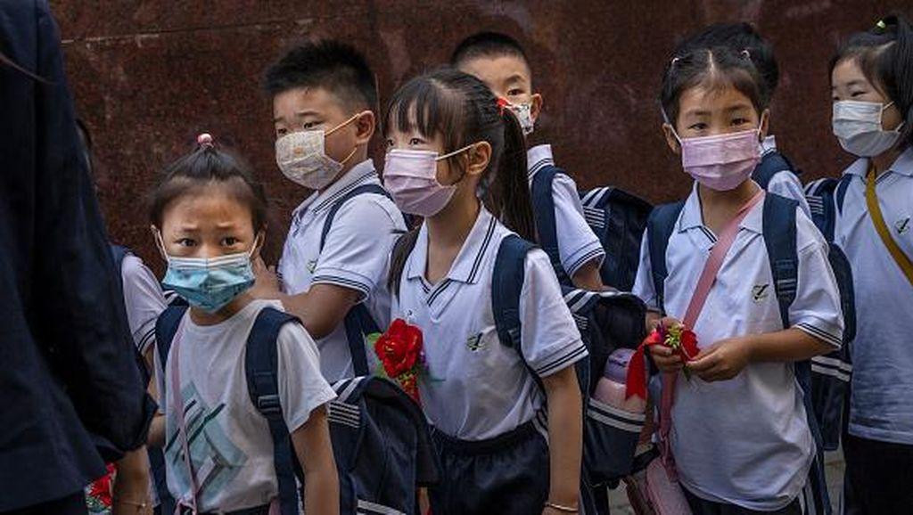 Sekolah Ditutup China Gegara Puluhan Siswa Kena Corona