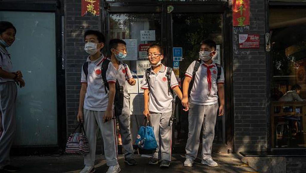 Puluhan Anak Terinfeksi Corona, China Tutup Sekolah!
